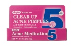 Acne Clear 5% Gel  1.5oz/tube