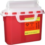 Container Sharps 5.4qt (Red)