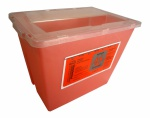 Container Sharps 2 Gal Red