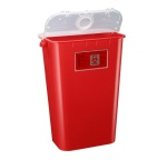 Container Sharps 11 Gal Red
