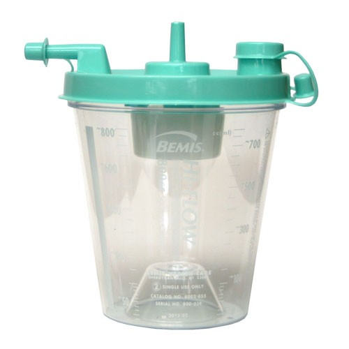 Suction Canister 800cc Hi-Flow
