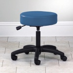 Stool Pneumatic Blue