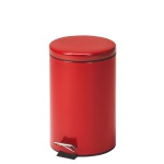 Trash Can Step-On Red 13qt