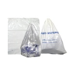 Patient Bag White 20x20 25/pk