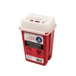 Container Sharps 1 qt Red