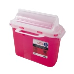 Container Sharps 5.4 qt Red