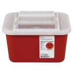 Container Sharps 1 Gal Red
