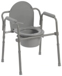 Commode 3-in-1 Steel