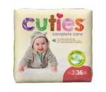 Diaper Cuties Sz 3  144s