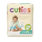 Diaper Cuties Sz 4  31/pk