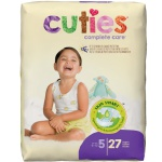 Diaper Cuties Sz 5  27/pk