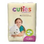 Diaper Cuties Sz 6 23/pk