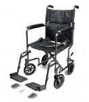 Transport Chair Aluminum 19in