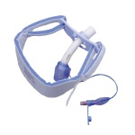Trach Ties Foam MED